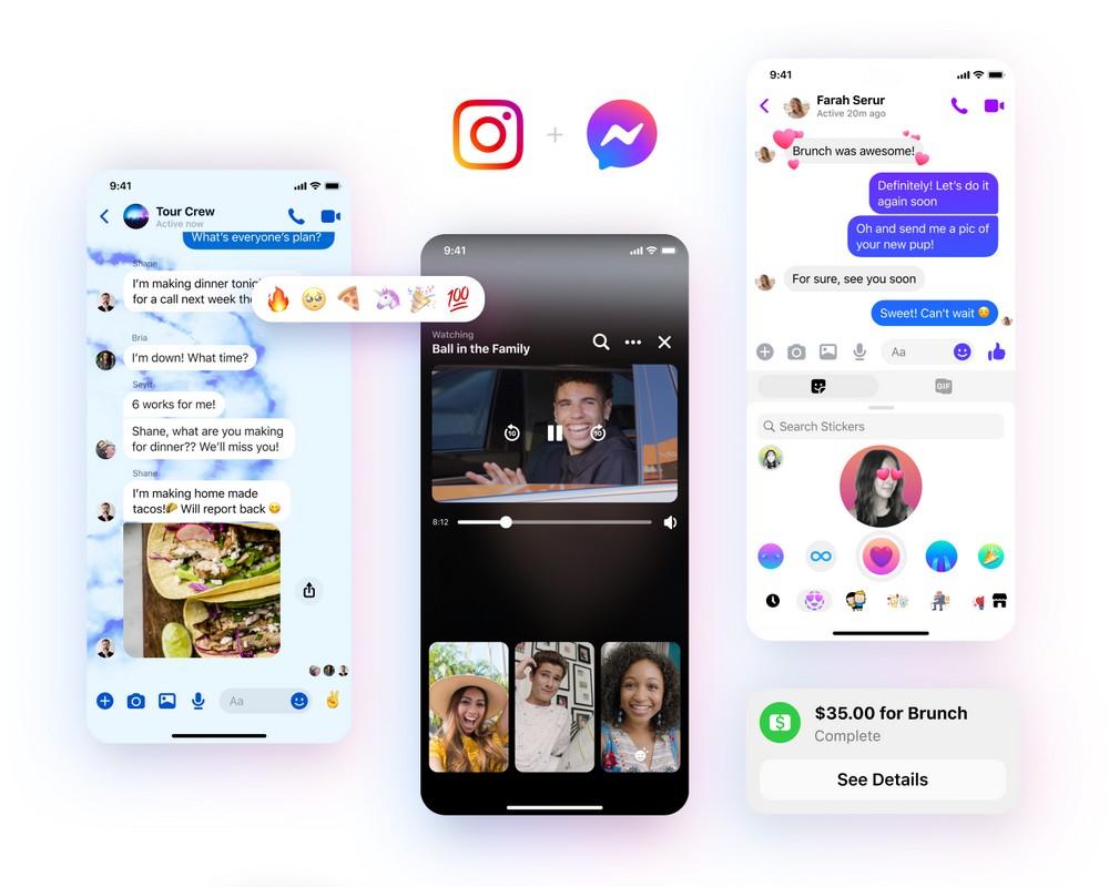 Um dos recursos que devem estar disponíveis em breve é a possibilidade de usuários do Instagram mandarem mensagens para seus contados no Facebook, além de stickers personalizados, via selfies.