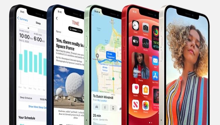 A tela dos novos iPhones 12 é OLED.