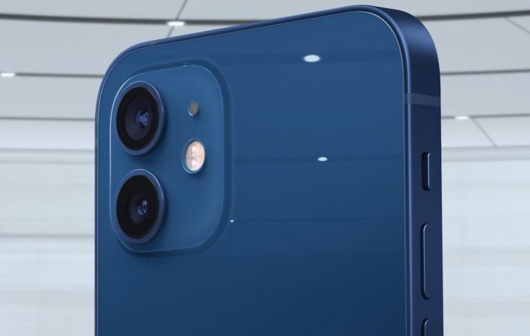 As câmeras do iPhone 12.