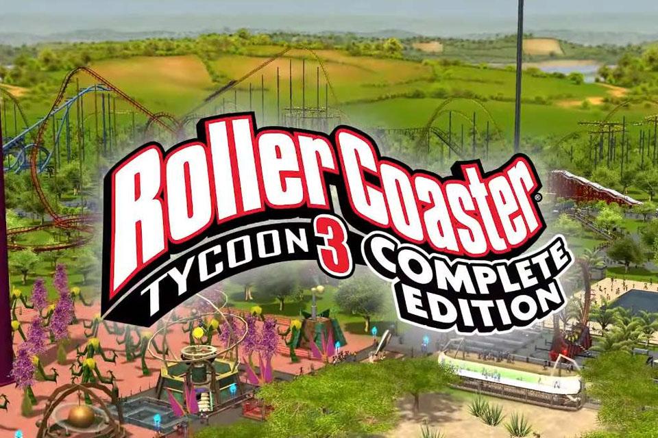 RollerCoaster Tycoon 3: CE agrada, mas merecia uma releitura à altura