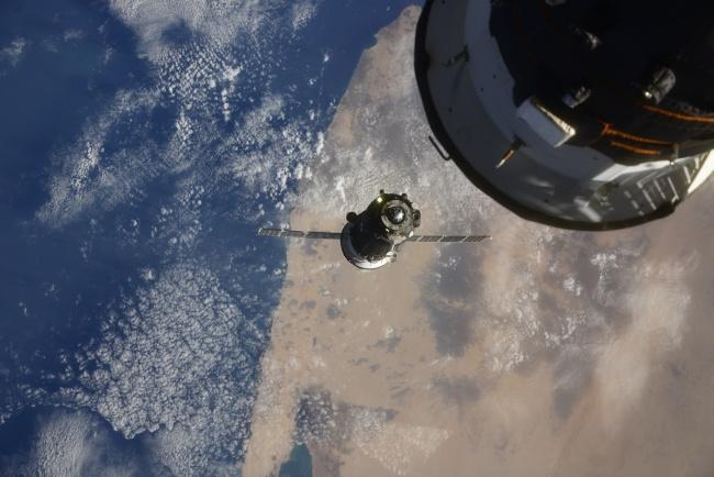 A missão MS-17 deve ficar seis meses na ISS.