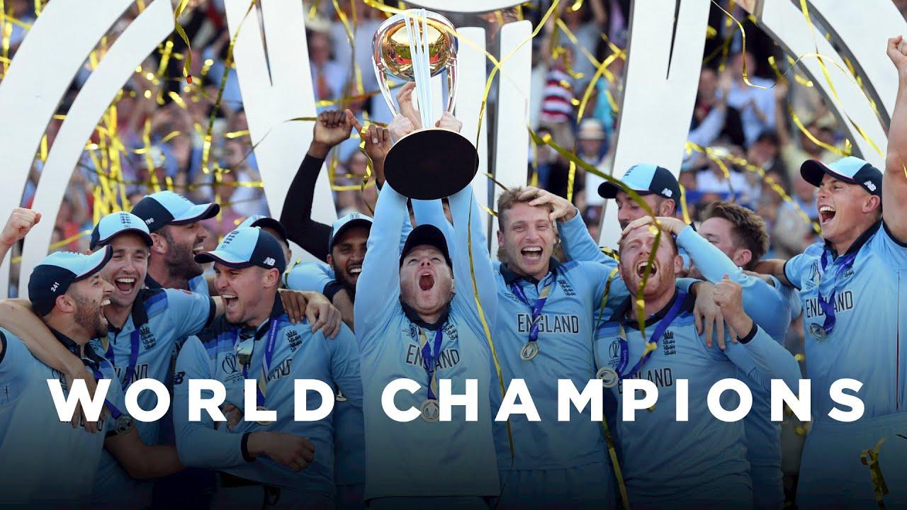 Ingleses são os atuais campeões mundiais da modalidade T20