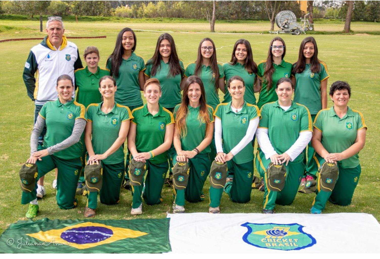 Mais da metade da seleção feminina de críquete é composta por jogadoras de Poços de Caldas