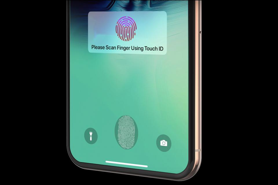 Touch ID sob a tela pode chegar no próximo iPhone