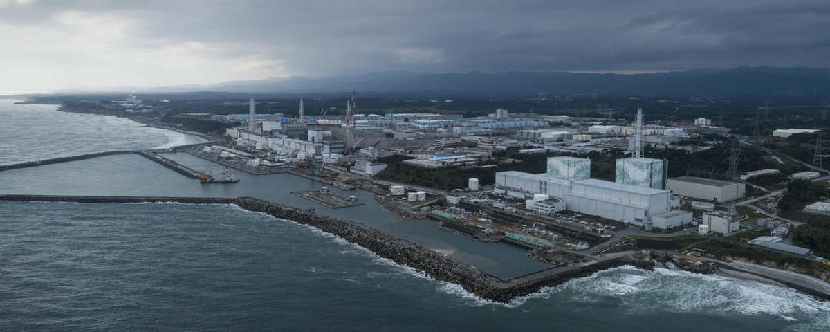 Imagem de: Japão pretende despejar no mar água do reator de Fukushima