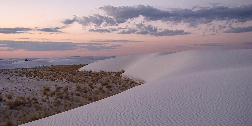 As dunas do White Sands National Park. (Fonte: R. Burghart/National Park Service/Reprodução)