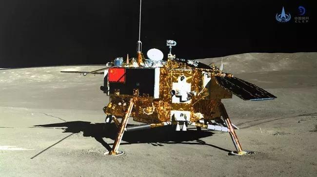 O rover Yutu 2, da missão Chang'e 4, está no lado oculto da Lua.