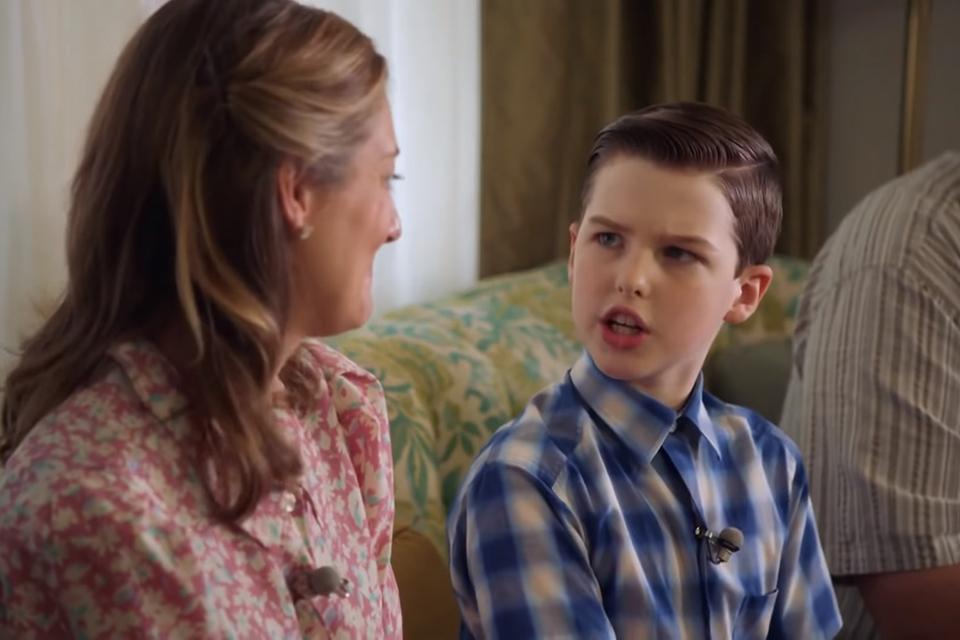 Young Sheldon: Sheldon se prepara para a faculdade em promo da 4ª temporada