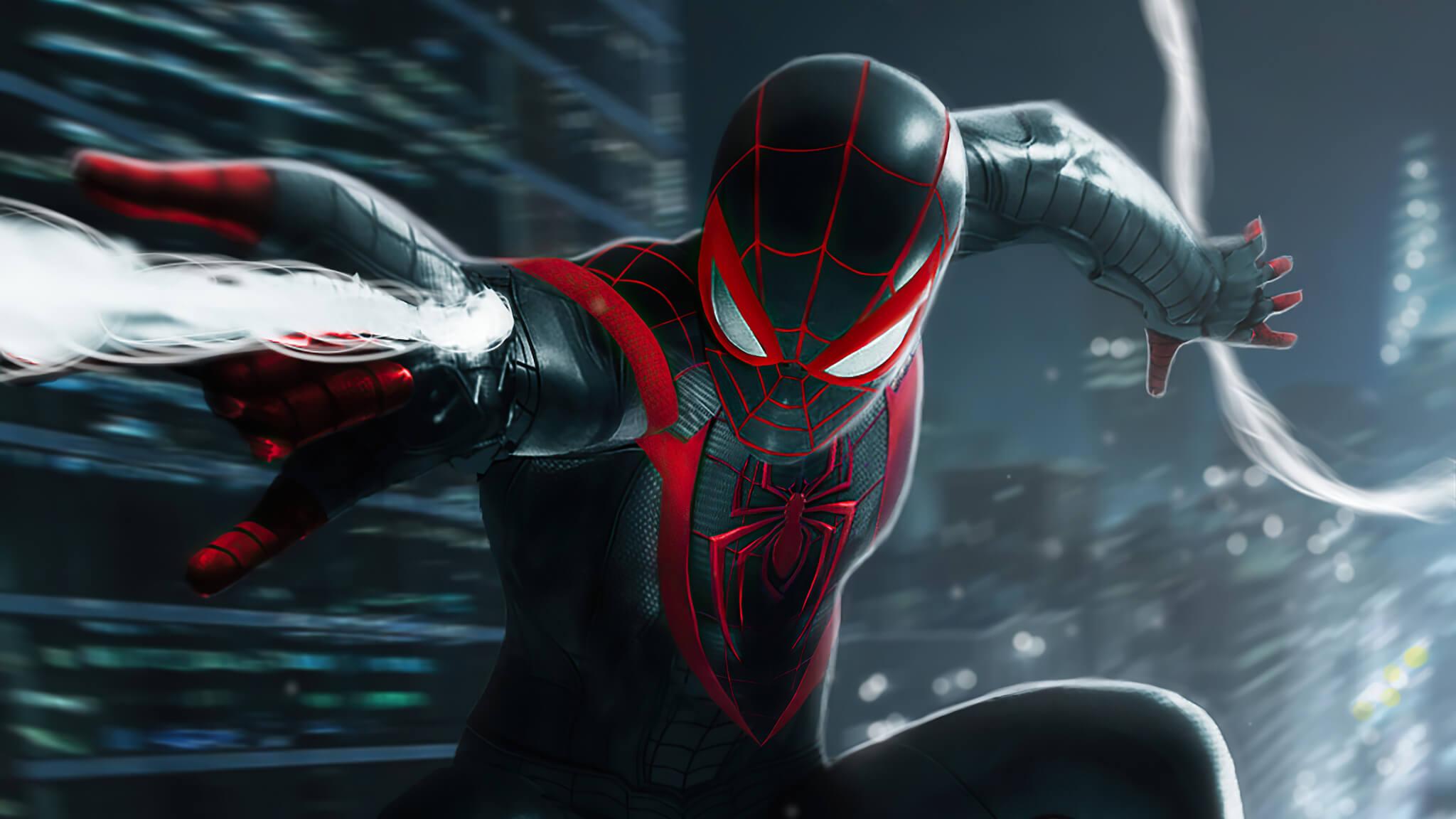 "Marvel's Spider-Man: Miles Morales tem ""valor de AAA"" e mapa expandido |  Voxel"