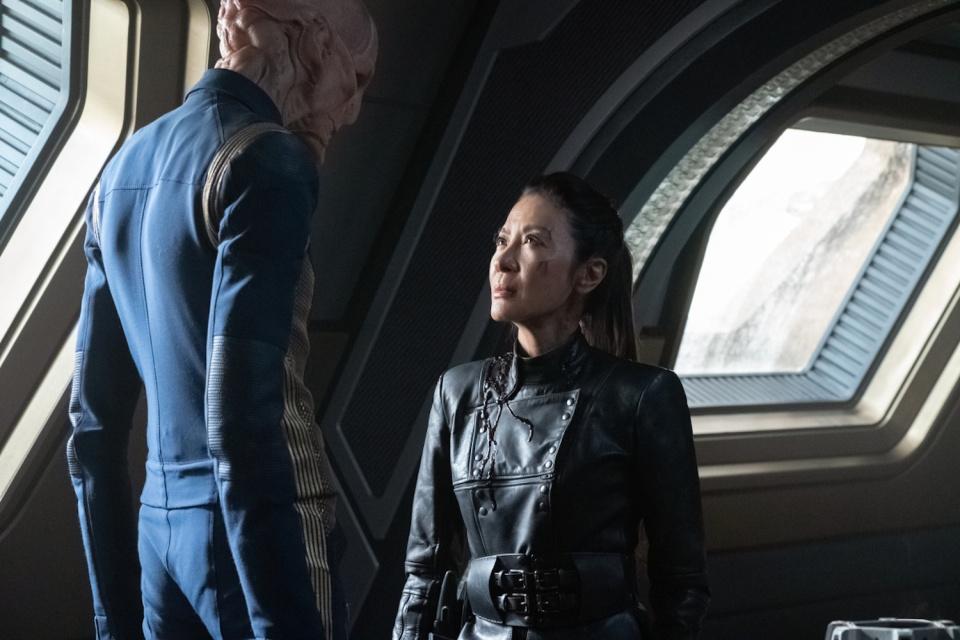 Star Trek: Discovery 3x2: tripulantes consertam a nave (RECAP)