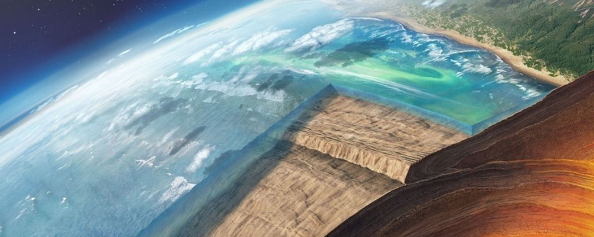 Imagem de: Geofísicos confirmam a existência de placa tectônica ancestral