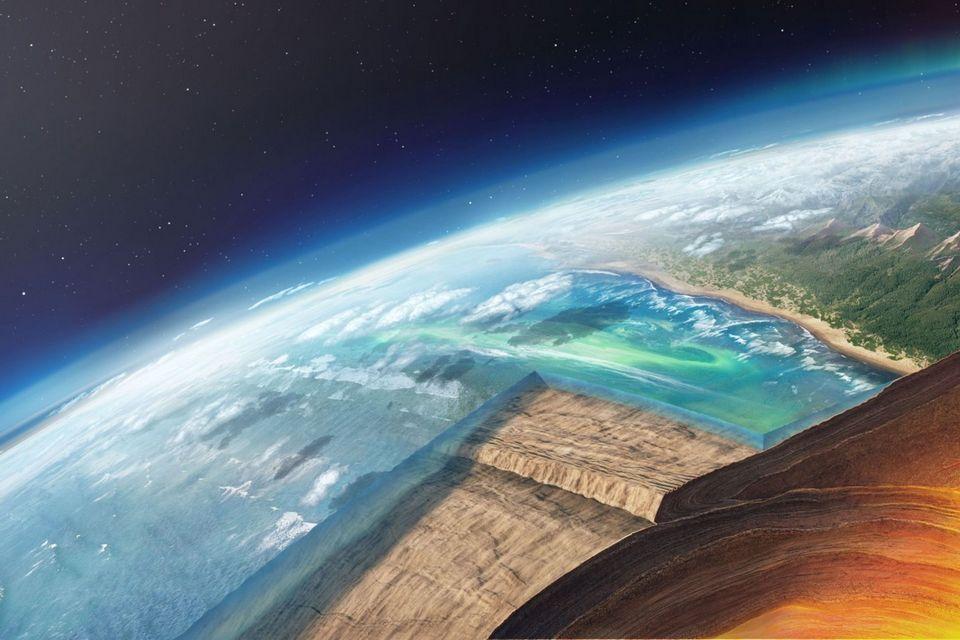 Geofísicos confirmam a existência de placa tectônica ancestral