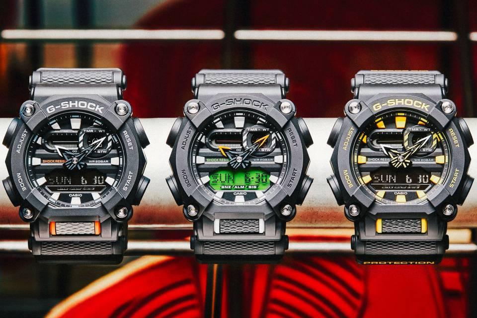 Casio G-Shock: relógios com 'resistência absoluta' chegam ao Brasil