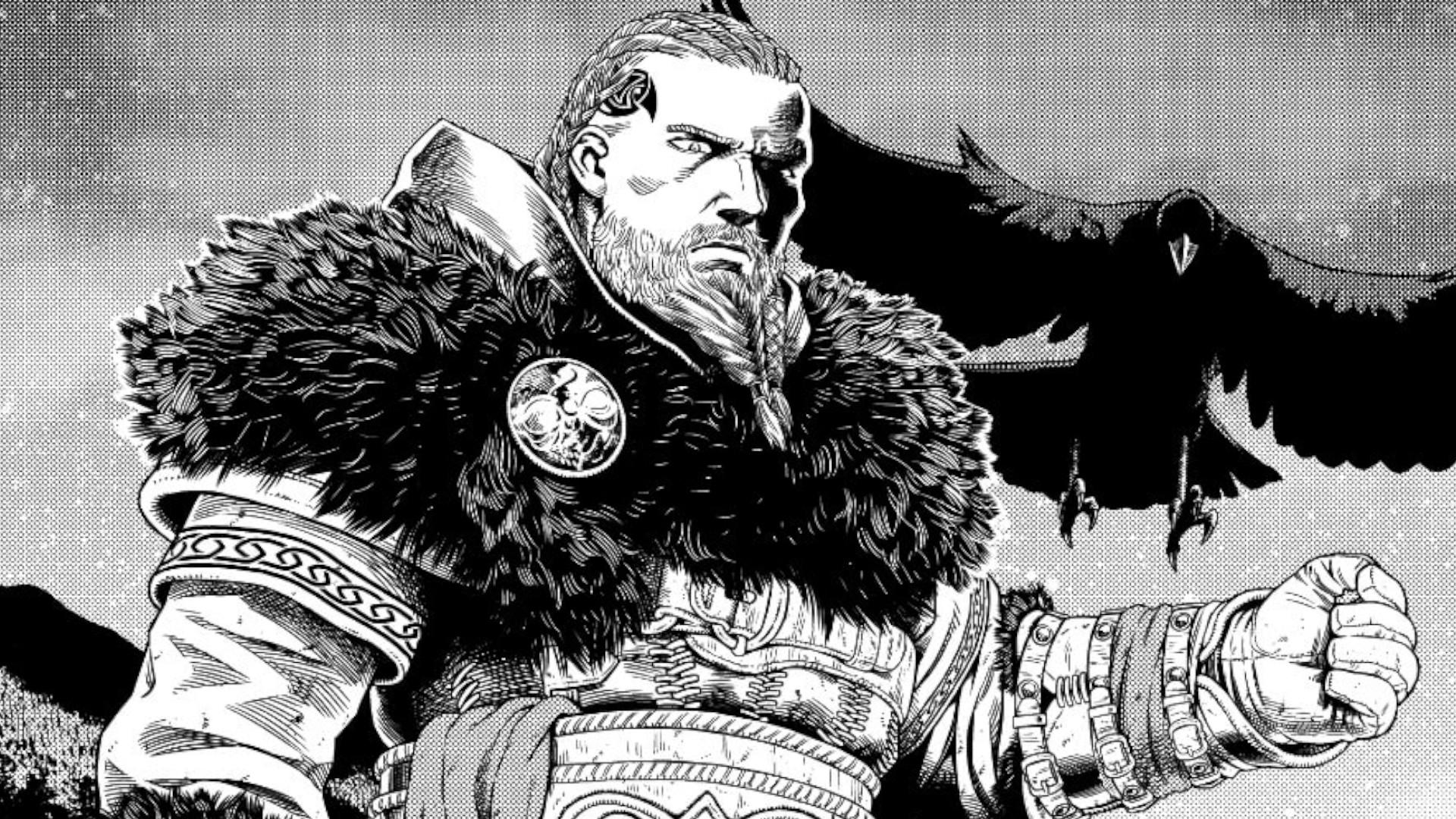 Assassin's Creed Valhalla fará crossover com mangá de Vinland Saga