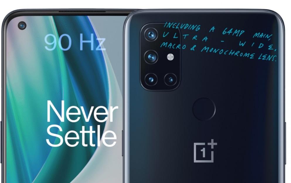 OnePlus revela dois novos celulares acessíveis: Nord N10 5G e N100