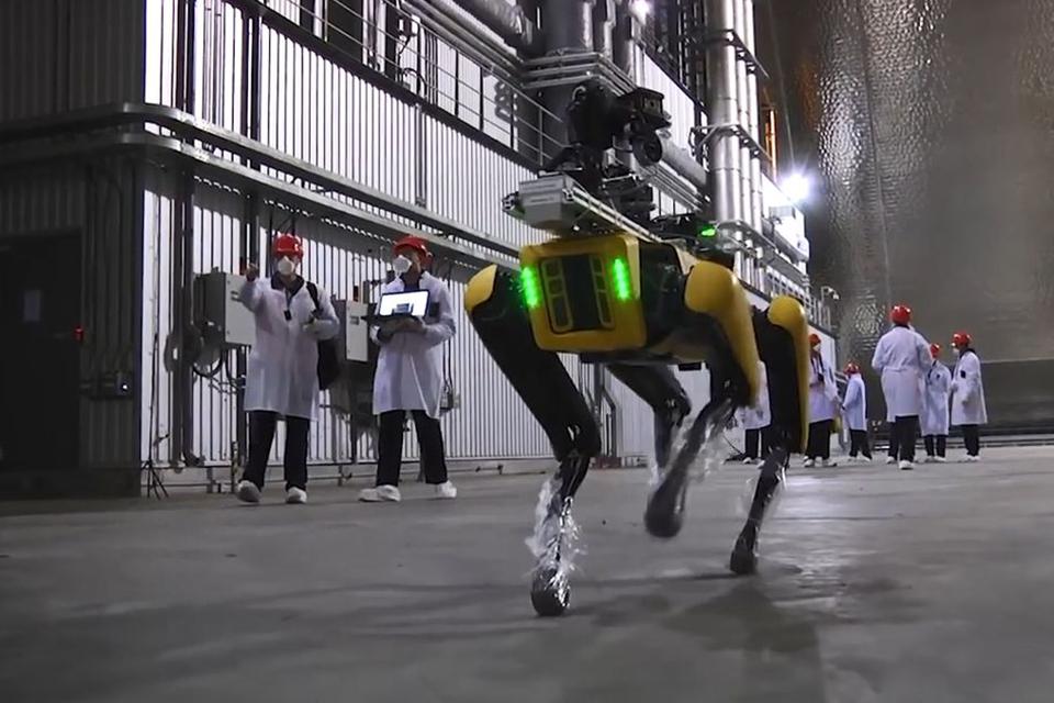 Cientistas enviam cão-robô da Boston Dynamics a Chernobyl