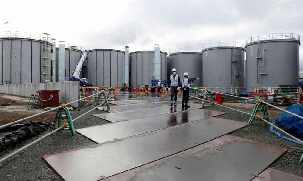 Em 2022, não haverá mais tanques para armazenar água contaminada.