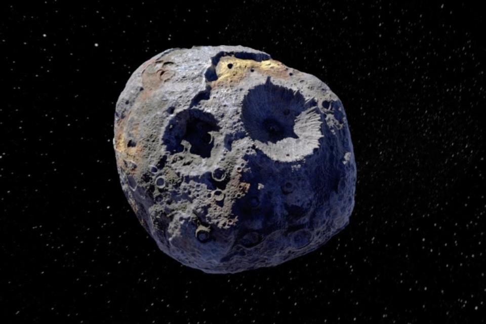 Estudo revela novos detalhes sobre o asteroide gigante Psiquê