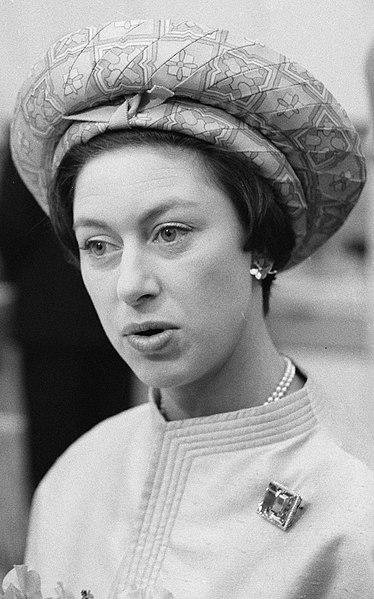 Margaret é irmã mais nova de Elizabeth II. (Fonte: Wikimedia Commons)