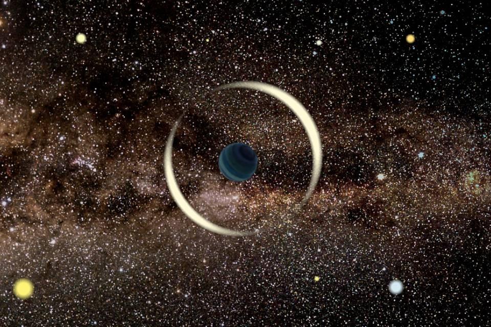Planeta interestelar do tamanho na Terra é encontrado na Via Láctea