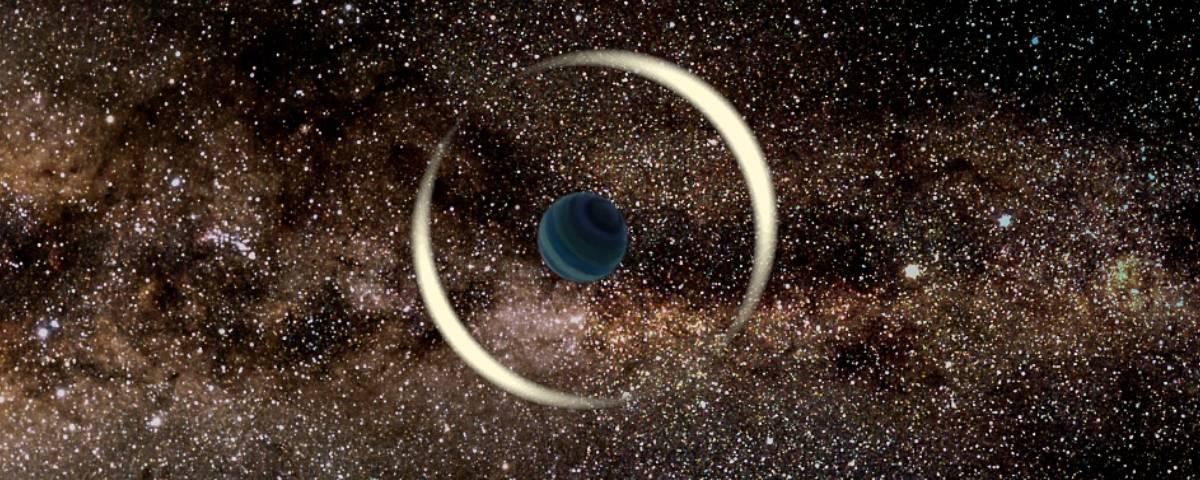 Imagem de: Planeta interestelar do tamanho na Terra é encontrado na Via Láctea
