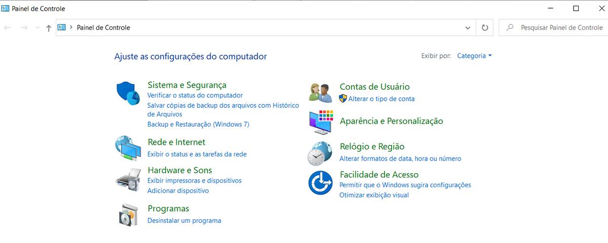 Microsoft começa a encerrar funções do Painel de Controle