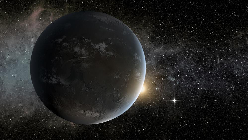 A representação pacífica que a NASA deu ao K2-141b.