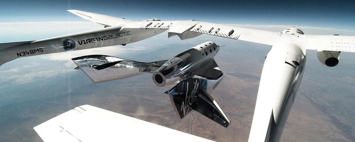 Imagem de: Virgin Galactic anuncia seu terceiro voo de testes suborbital