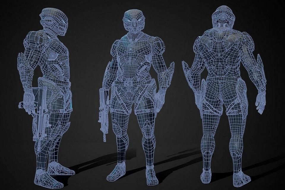Soldados robôs podem estar na ativa na próxima década