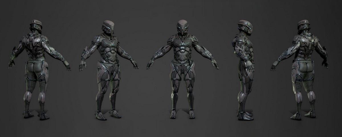 Imagem de: Soldados robôs podem estar na ativa na próxima década