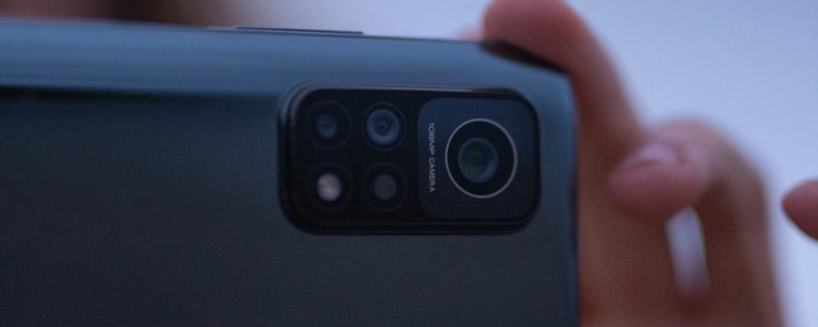 Os celulares da linha Mi 10T contam com câmeras de até 108 MP