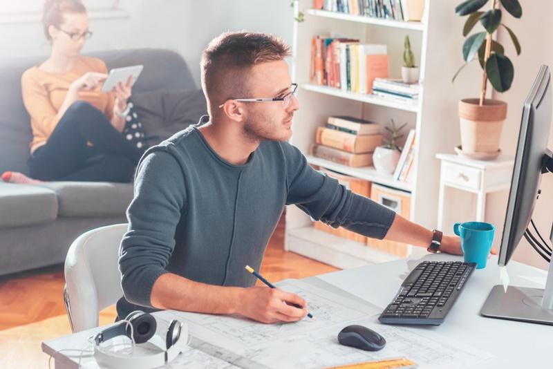 Trabalho remoto é uma tendência praticamente irreversível.