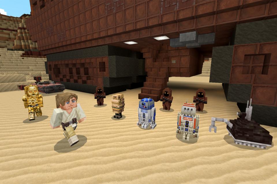 Minecraft: DLC de Star Wars traz trilogia original e Baby Yoda