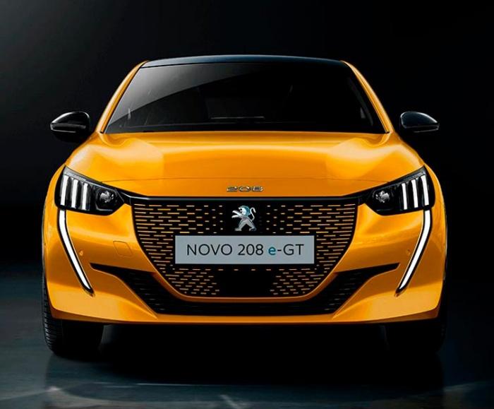 Novo Peugeot 208 e-GT.