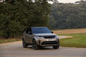 Land Rover Discovery hybrid.