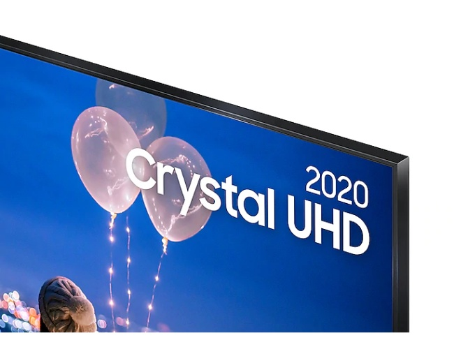 Tela da Samsung Crystal UHD 50.