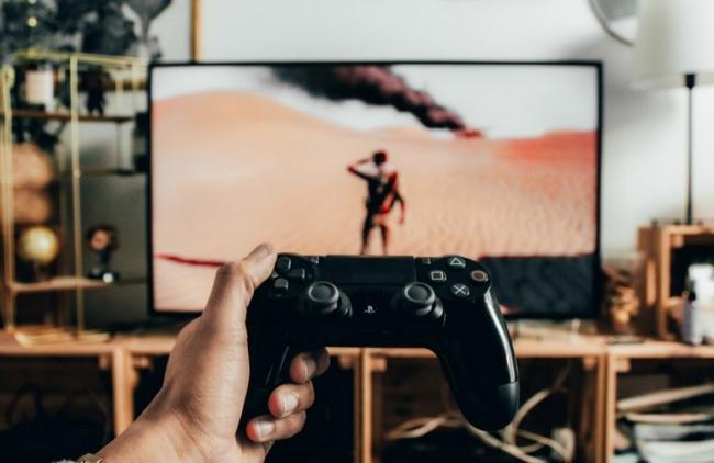 A TV Samsung Crystal UHD tem um modo para jogos.