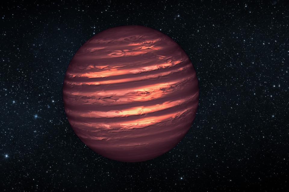 Astrônomos usam ondas de rádio para descobrir uma anã marrom
