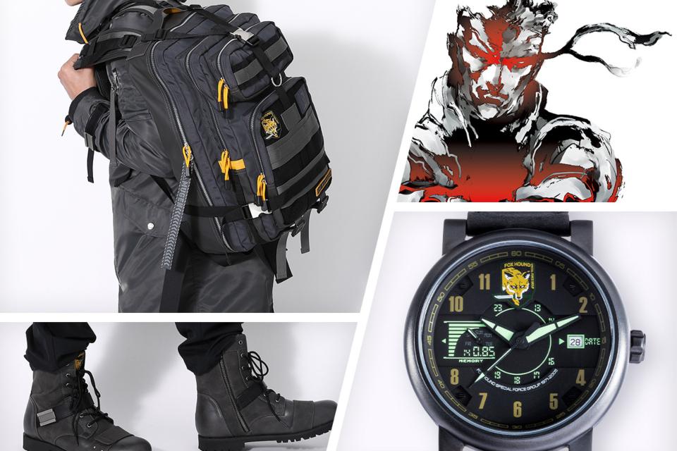 Estes produtos de Metal Gear Solid farão qualquer um virar Snake
