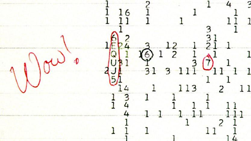 Fonte: Big Ear Radio Observatory/Reprodução