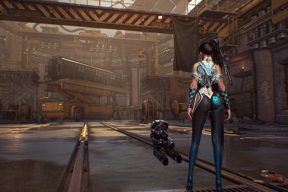 Project EVE, inspirado em NieR, ganha gameplay e screesnhots