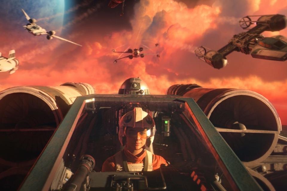 Star Wars Squadrons roda a 120 fps no Xbox Series, mas não no PS5
