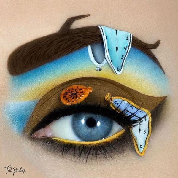 A obra mais reconhecida de Dalí ficou sensacional