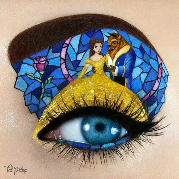 Uma linda arte inspirada no filme da Disney