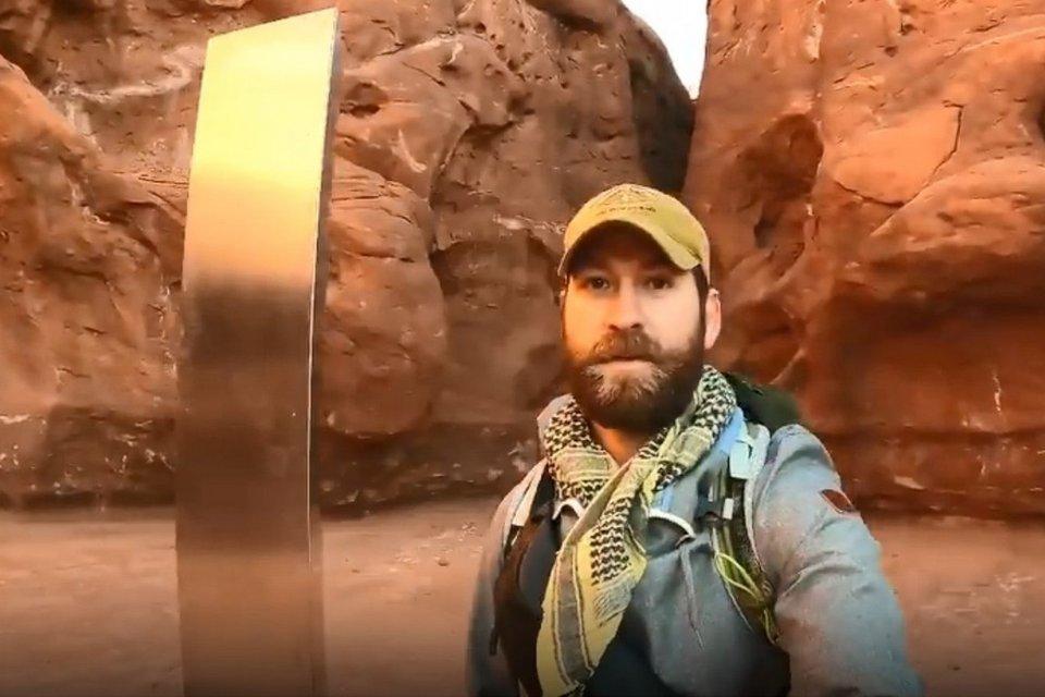 Internautas já estão visitando o Monólito de Utah