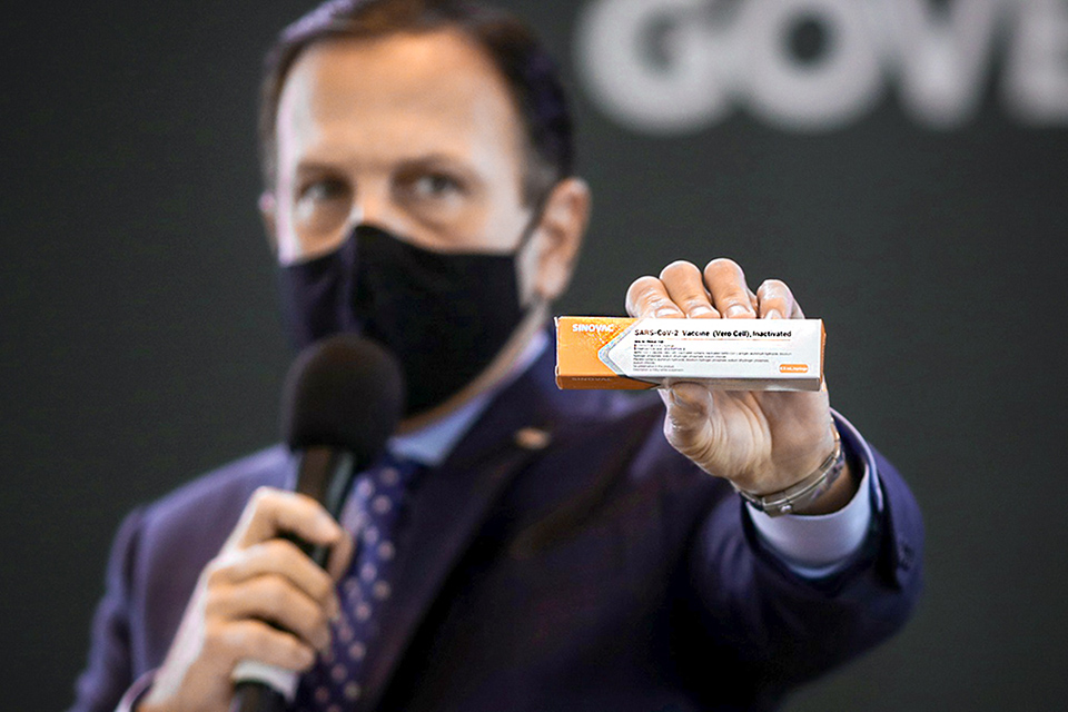 CoronaVac: Anvisa emite nota sobre uso da vacina sem autorização