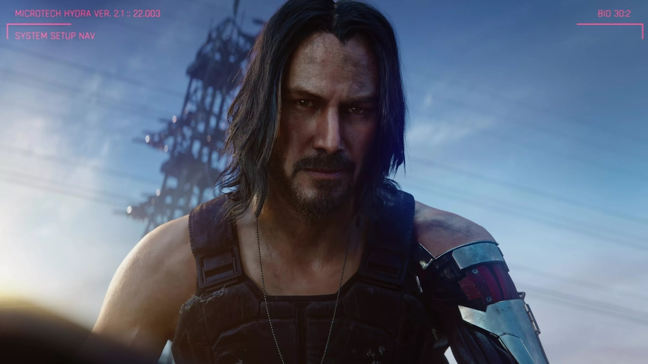 Keanu Reeves já jogou Cyberpunk 2077 e o amou!