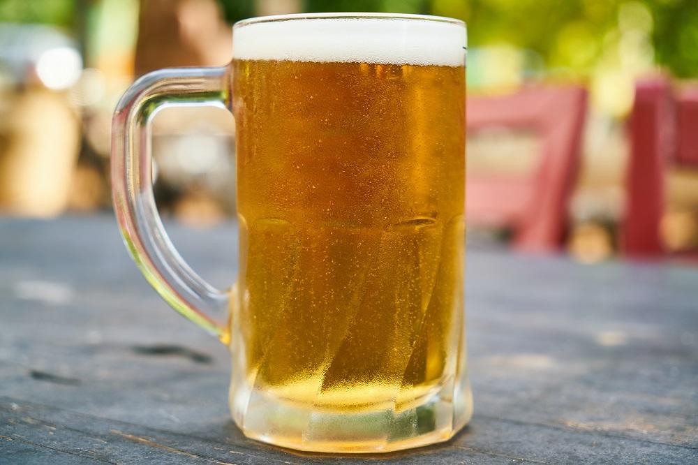 Dava para imaginar que a cerveja era antiga, mas não tanto assim