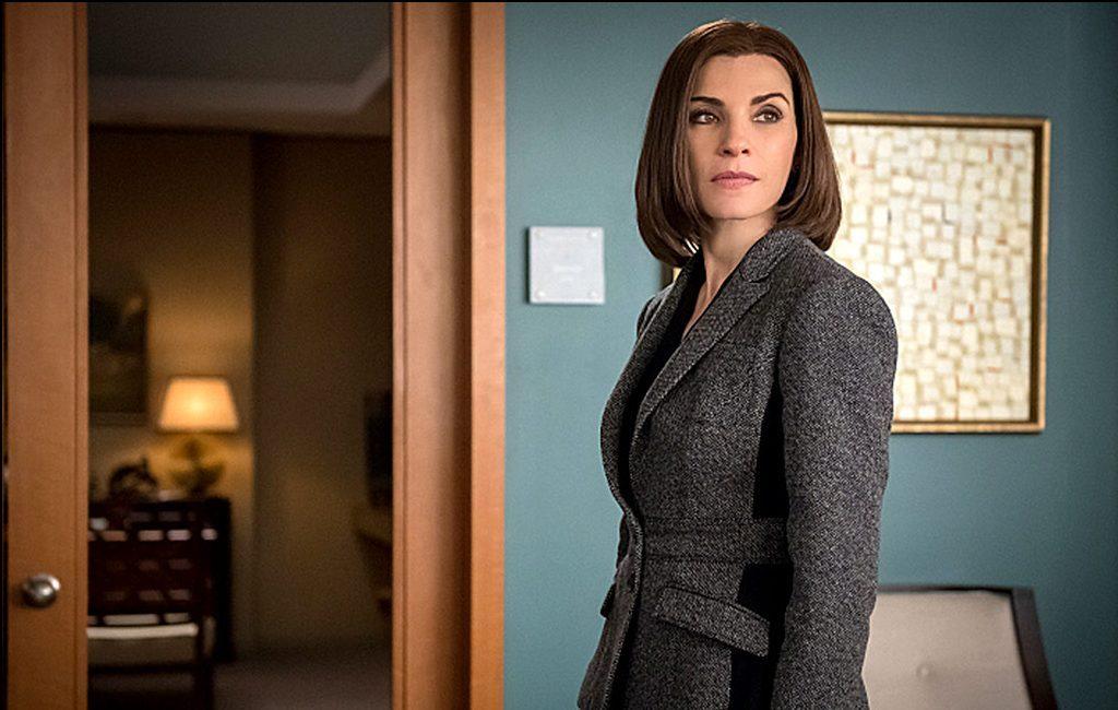 Julianna no papel de Alicia Florrick, em The Good Wife. (Fonte: CBS/Reprodução)