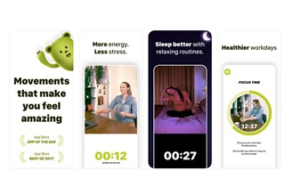 Recursos do aplicativo Wakeout!, disponível na App Store. (Fonte: App Store / Reprodução)